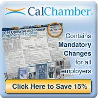 Image of Compliance Products From The California Chamber of Commerce
